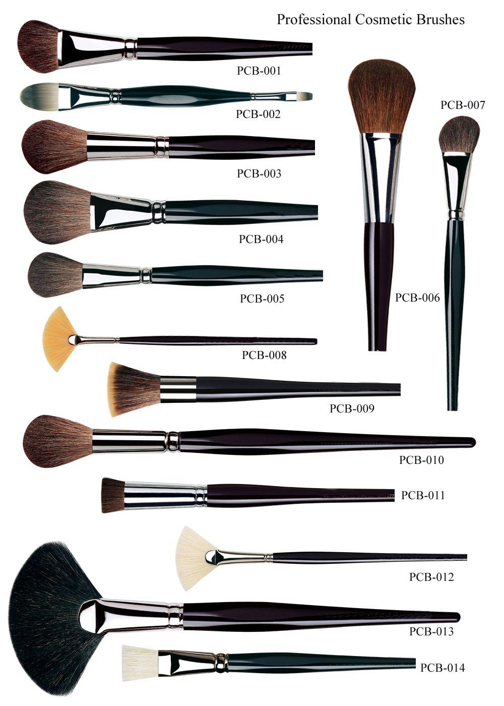 Профессиональные кисточки для макияжа как ими пользоваться